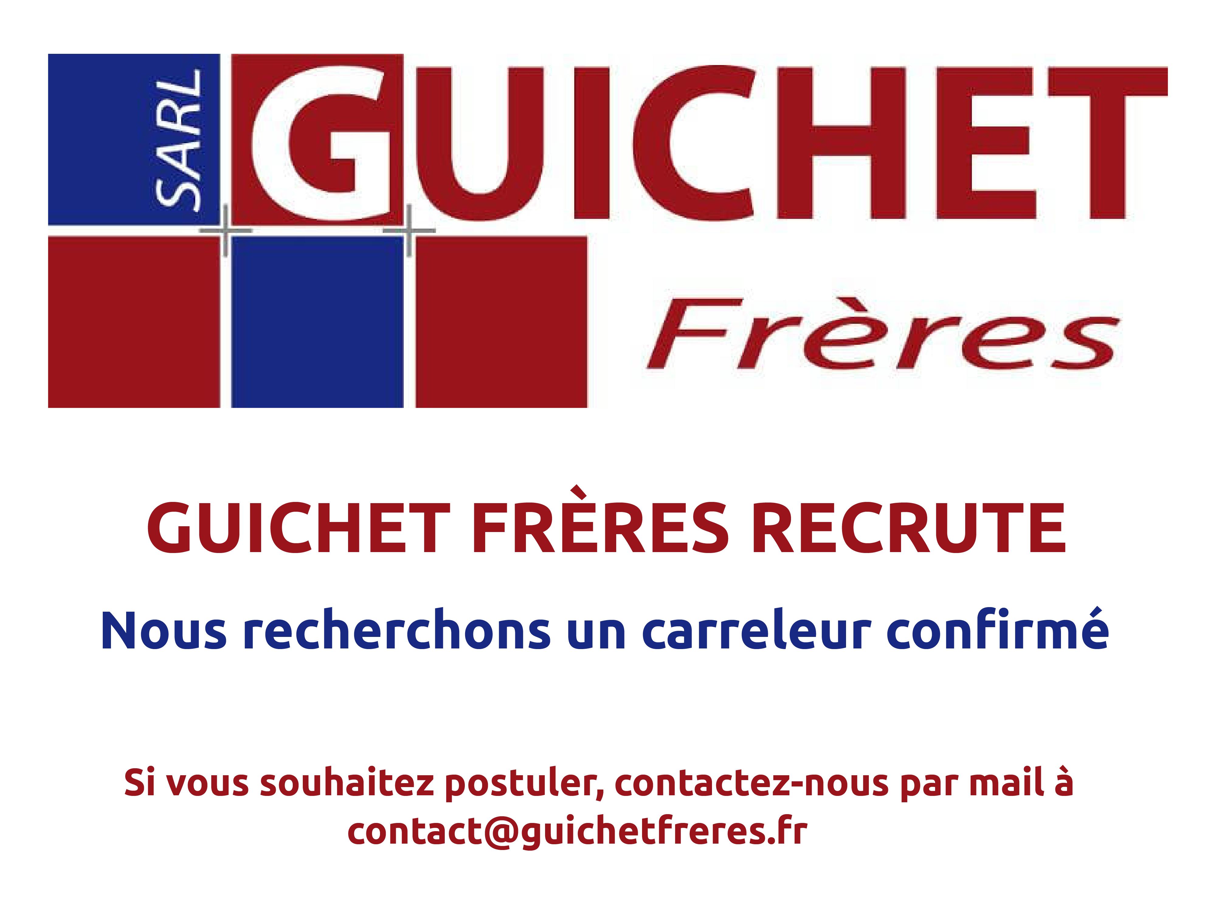 pop up recrutement carreleur